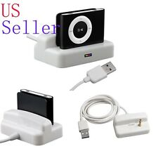 USB Charger Dock Cradle Cable for iPod Shuffle 2nd Gen