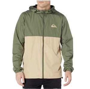 $55 Quiksilver Men's Everyday Jacket Light Weight Windbreaker Size L