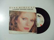 Lena Biolcati – Grande, Grande Amore - Disco Vinile 45 Giri Stampa ITALIA 1986