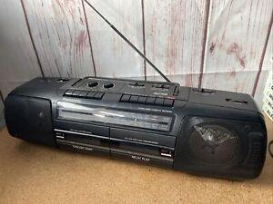 PANASONIC RX-FT510 Boombox Ghetto Blaster,Cassette FM,LW,MW,SW Radio,TESTED.