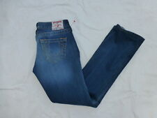 WOMENS TRUE RELIGION JOHNNY STRAIGHT LEG JEANS SIZE 25x28 #W2045
