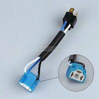 H4 Ceramic Wire Wiring Headlight Harness Socket Connector Adaptor Plug