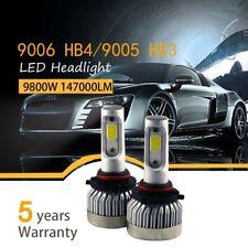 Pair 9006 HB4 9005 980W 147000LM Car LED Headlight Bulbs Cree kit 6000K White