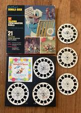 Disney's Donald Duck GAF Talking Viewmaster Reels w/ Box & booklet, Flintstones