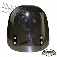 Buell Style Universal Motorcycle Windscreen Fairing For Street Fighter Black New