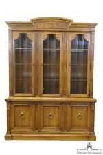 DREXEL HERITAGE Francesca Neoclassica 60″ Lighted China Cabinet 564-424