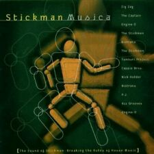 Stickman Musica (1996) Zig Zag, Captain, Engine-O, Stickmen, Biotrans, Ni.. [CD]