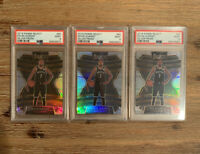 2019-20 Panini Select Kevin Durant Concourse Silver #65 PSA 9 NETS (Lot Of 3)