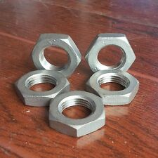 """1/2""""Bspp Thread Female 304 Stainless Steel Hexagon Nuts Pipe Plumbing Fitting x5"""