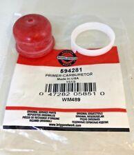 Genuine Briggs & Stratton 450E, 500E, 550E NUOVO TIPO Primer Primer Lampadina 594281