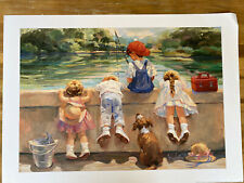 Corinne Hartley Little Rascals Art Print 27 1/2in 19 3/4in