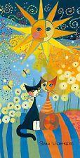 Rosina Wachtmeister Badetuch Saunatuch Sunny Day 80 x 160 cm  neu