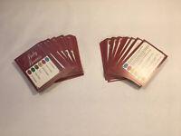 Trivial Pursuit Baby Boomer Edição aleatórias 110 Cartões Trivia Quiz perguntas