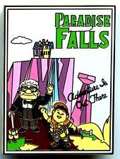 Disney's Soda Fountain - Postcard Series - Paradise Falls - Up! Pin