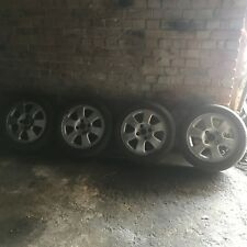 "FORD 6 SPOKE 15"" ALLOY WHEELS WITH 185/55 R15 TYRES"