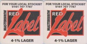 Licensed Wholesale Brewing Stockton No.4 Beermat Coaster Bierdeckel Sousbock