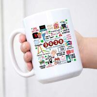 Coffee Mug 2020 Pandemic Mug Quarantine Mug Social Distancing Mug 2020
