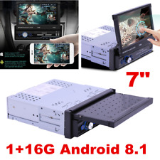 7'' Android 8.1 Bluetooth WiFi 1Din Car Radio Stereo GPS Navi Multimedia Player