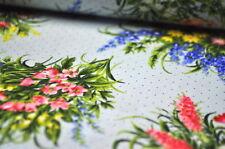 Moda Handarbeitsstoffe mit Blumenmuster