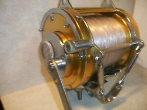 Penn 80W international  deep sea reel w/power handle and spooled