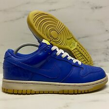 2009 Nike Dunk Low CL Sprite Hyper Blue / Volt / White VTG SB Size 7 -318020 441
