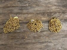 A set of 3 Chains for a Ridgeway Clock Movement, 451 033.