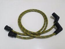 "24"" 7mm Vintage Triumph BSA 500 650 A65 A50 cloth spark plug wire bobber café Gr"