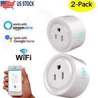4X Wifi Smart Plug Remote Control Socket Outlet Google Alexa Home Assistant