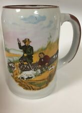 CURRIER AND IVES WILD DUCK HUNTING  BEER STEIN