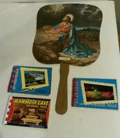 Nashville TN Grand Ole autograph fan Niagara Falls Mammoth Cave lot 4 vintage
