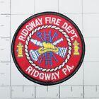 Ridgway Fire Dept Patch - Pennsylvania