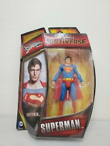 "DC Comics Batman Arkham Multiverse Superman 3.75"" 4"" Mattel Christopher Reeve"