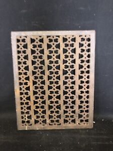 """1940's 15 1/2"""" Heating Vent Grate"""