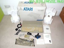 BOXED ATARI ST 520 STFM COMPUTER BUNDLE - 4MB MEMORY RAM TOS V1.02 - REFURBISHED