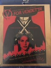 V for Vendetta Blu-Ray Disc Brand New