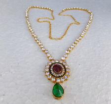 Ethnic South Indian Saree Jewelry Kamerbandh Kundan Hip Waist Chain Belt Bridal