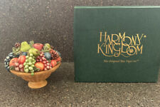 Harmony Kingdom Longaberger Compote Basket Trinket Box Figurine in Original Box