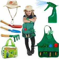 Born Toys Kids Gardening Set, Kids Gardening Tools with rake, Kids Gardening Glo