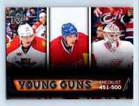 2013-14 Upper Deck Young Guns Barkov Gallagher Mrazek RC #500