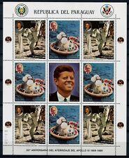 Paraguay 1989 spatiale Space Apollo 11 4331-4332 petits arcs ** Neuf sans charnière