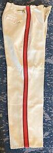 "Vintage Craddock Uniform Company Wool Marching Band Pants W 26 Inseam 28"" Talon"