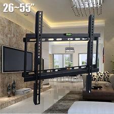 "Slim 3D LCD LED TV Wall Bracket Mount 26 32 37 40 42 46 50 52 55"" For Samsung"