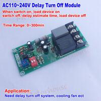 AC110V 220V 230V Adjustable Delay Timer Time Relay Control Switch Turn Off Board