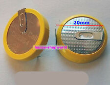1 x New Tabbed 3V CR2354 Battery Button Coin Cell With 2 Solder Tabs/Pins