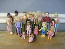 Vintage FP Loving Family & Other Dollhouse People Figures Baby Dolls You Choose!