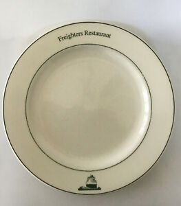 "VTG Used Oneida Coventry Freighters Restaurant Dinnerware 11 3/4"" Dinner Plate"