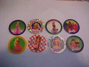 Barbie Pogs Canadian Exclusive Mod Barbie Lot of 8 1995 #3