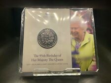 2021 Brilliant Uncirculated Queen's 95th Birthday UK £5 Five Pounds