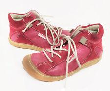 Ricosta Pepino Mädchen Schnürschuhe pink, Leder, Gr 23