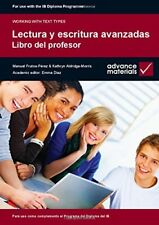 Lectura y Escritura Avanzadas Teacher's Book (Working with Text Types), Aldridge